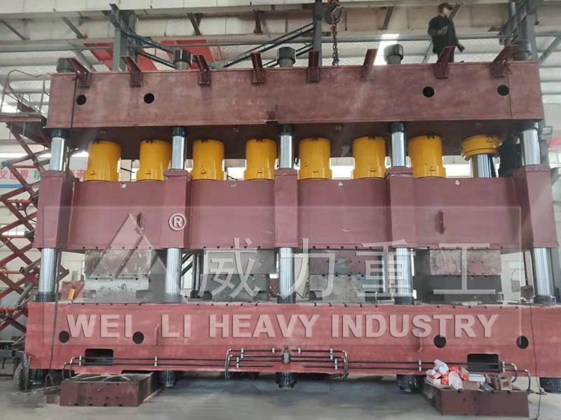 4000吨汽车纵梁成型液压机